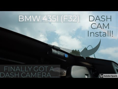 Dash CAM Install On My BMW .. How To