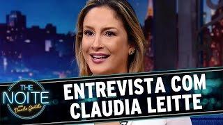 The Noite (18/05/16) - Entrevista com Claudia Leitte