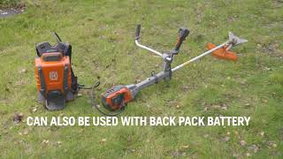 HUSQVARNA Battery Brushcutter 535iRXT - Truly Cordless and Full Battery Flexibility