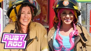 Ruby Roo - THE FIRE ENGINE Compilation | Challenges For Kids | Kids Videos | Sandaroo | Live Action