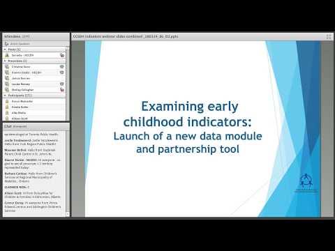 NCCDH Webinar: Examining early childhood indicators