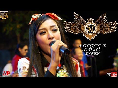 PESTA (Tipe-X) (cover) ELSA SAFIRA ~ OM NIRWANA SPECIAL GOYANG PATROL 2018 [music video]