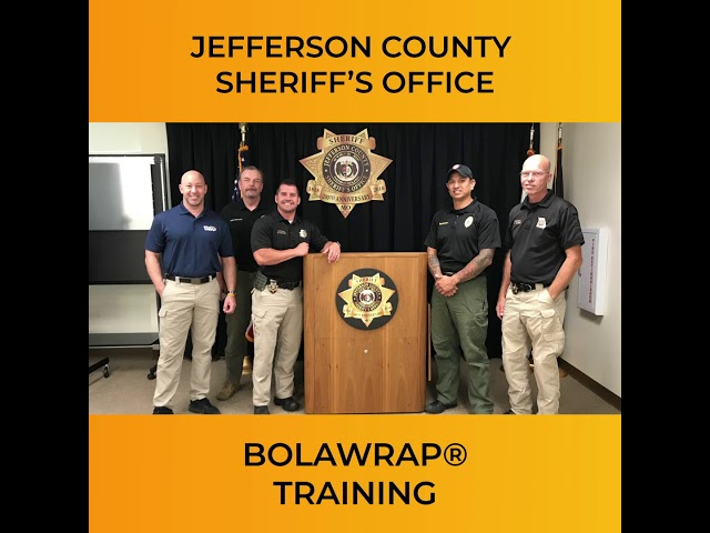 BolaWrap Training: Jefferson County Sheriff's Office and Jefferson College