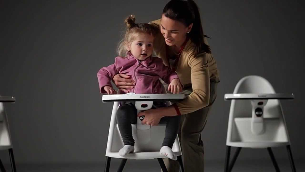 Chaise haute b b par babybj rn youtube for Chaise youtuber
