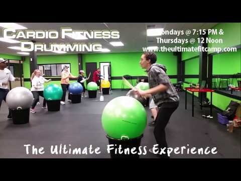 Cardio Fitness Drumming - The Ultimate Fitness Experience