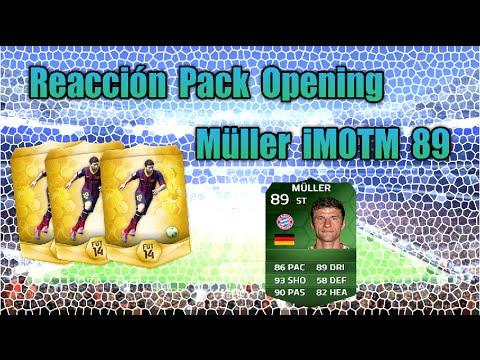 FIFA 14 | Ultimate Team | Reacción Müller iMOTM 89