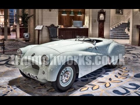 Triumph TR2 MVC575 Jabbeke speed test