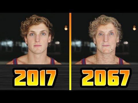 Thumbnail: YouTubers In 50 YEARS (Roman Atwood, Jake Paul, Logan Paul, Guava Juice)