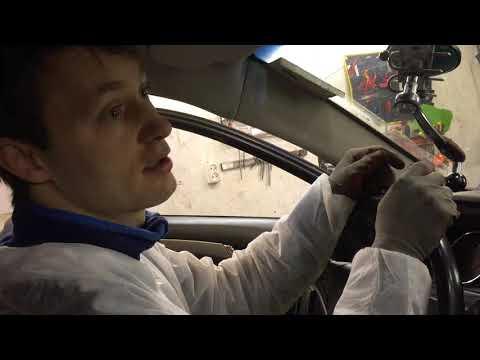 Замена лобового стекла - как сохранить молдинг - Петрозаводск