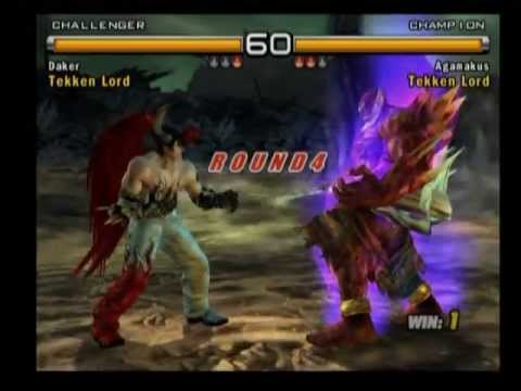 Tekken 5 Devil Jin Vs Jinpachi Youtube