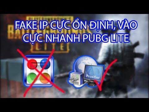 PUBG Lite PC| Cách Fake IP vào trận cực nhanh, không DISS, LAG