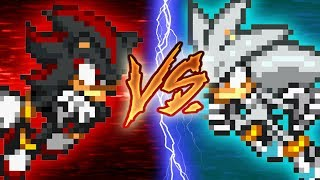 Shadow VS Silver (pivot sprite battle)