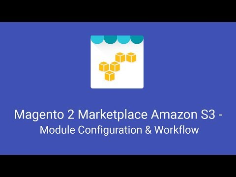 Magento 2 Marketplace Amazon S3 - Module Configuration & Workflow