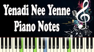 Yenadi Nee Yenne (A. Magajanangale) Piano Notes - Music Sheet