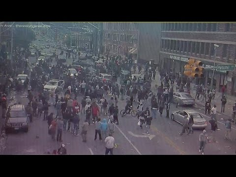 Video shows evolution of riot in Penn-North (Part 1 of 2)