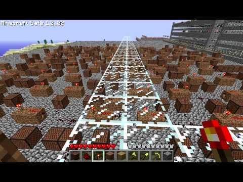 Minecraft Note Blocks - Star Wars Imperial March (Darth Vader Theme)