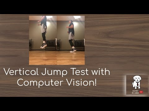 Vertical Jump Test With Computer Vision