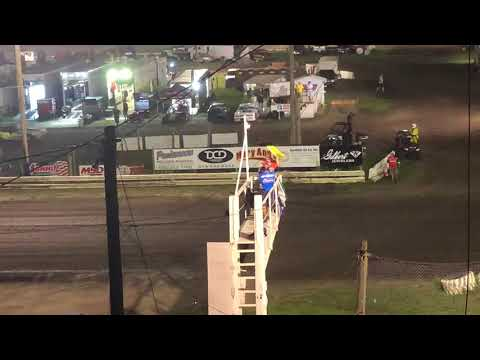 Lucas Oil ASCS Sprint Car Feature  8-18-18 Hamilton Co Speedway Webster city Iowa