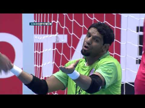 Bahrain 1-2 Vietnam (AFC Futsal Championship 2018: Group Stage)