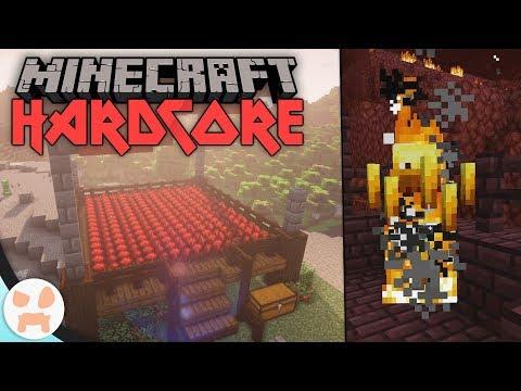 BLAZE RODS + NETHER WART FARM! | Minecraft Hardcore (Ep. 20)