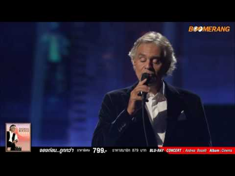 Andrea Bocelli : The Music of the Night from The Phantom of the Opera