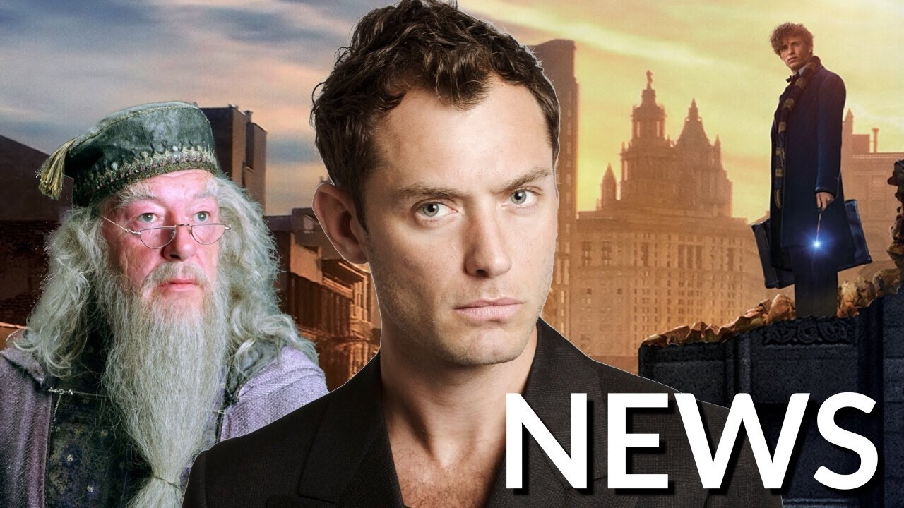 Jude Law Is Your Hot Young Dumbledore in the Fantastic Beasts 2 Trailer