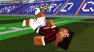 Minecraft - Milan x Juventus - Só golaço !