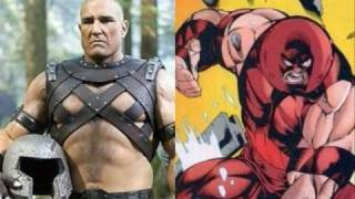 Parecidos razonables X-men - Reasonable Resemblances of the X-men