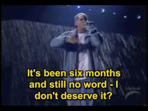 Eminem - Stan (Ft. Elton John Live @ Grammy) -- Subtitled --