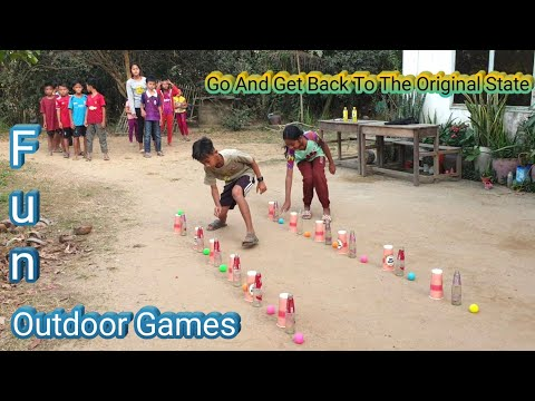 Go And Get Back To The Original State | Team Building Game | Fun Outdoor Games