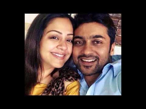 Actor Surya & Jyothika Personal Video