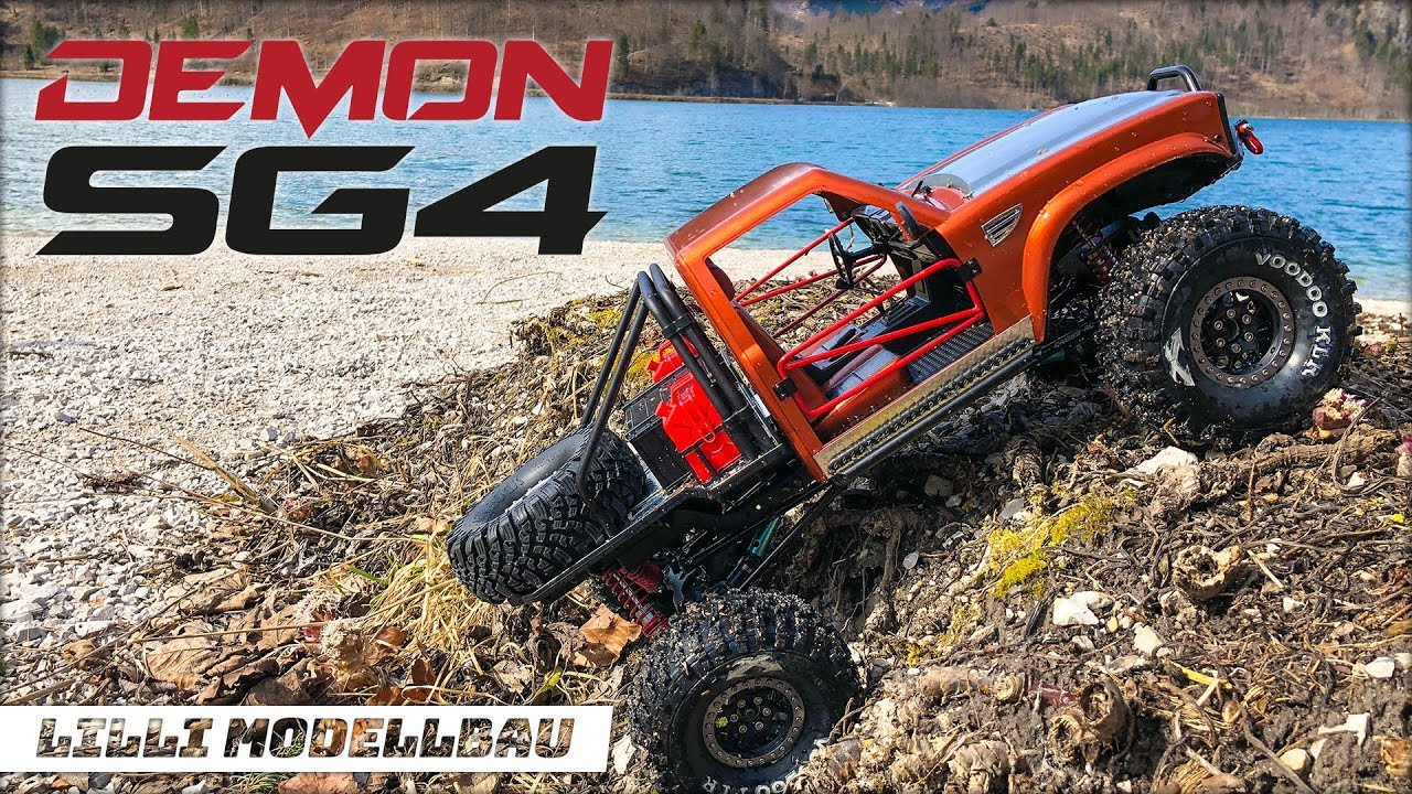 cross rc sg4 demon scale rock crawler first run and test. Black Bedroom Furniture Sets. Home Design Ideas