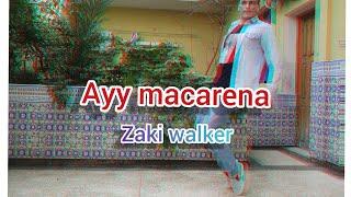 Ayy macarena - tyga (dance clip ) choregraphy by zaki