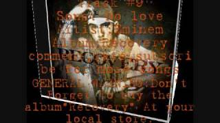 No love-Eminem ft lil wayne(Recovery)+Lyrics