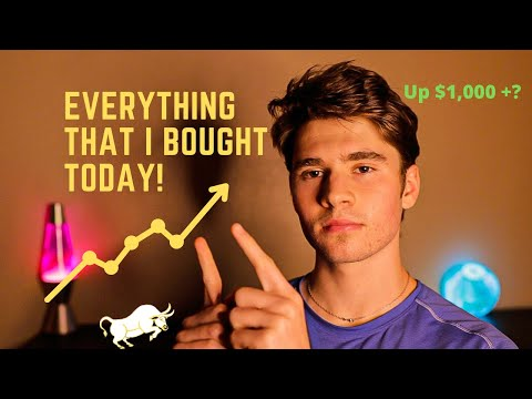 Best Stocks To Buy Now? | Everything I Bought!