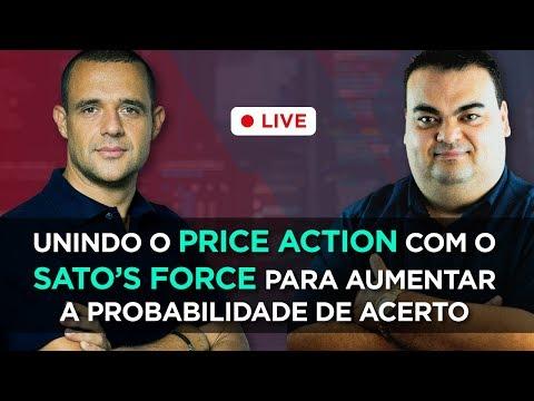 🔴 Unindo o Price Action com o SATO's Force e aumentar a probabilidade de acerto