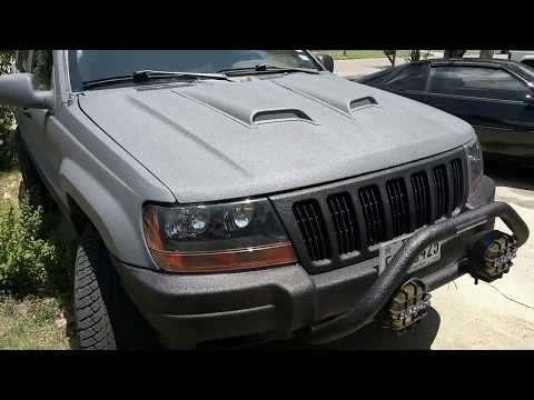 T-Rex protective spray bed liner part 4 ( WHOLE JEEP COMPLETE )
