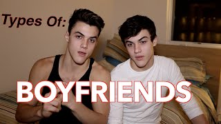 We show you a few of the types of boyfriends that exist in this world lol. I wonder what kind of boyfriends we would be? Last Week's Video 'Dolan Twins Extreme ...