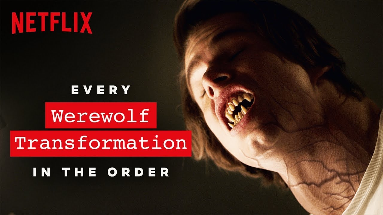 The Disturbing Transformation Of >> Every Werewolf Transformation The Order Netflix Youtube