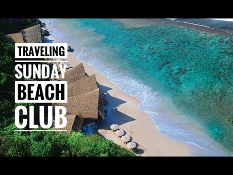 VLOG Jalan Jalan Murah Ke Bali - Sunday Beach Club Bali