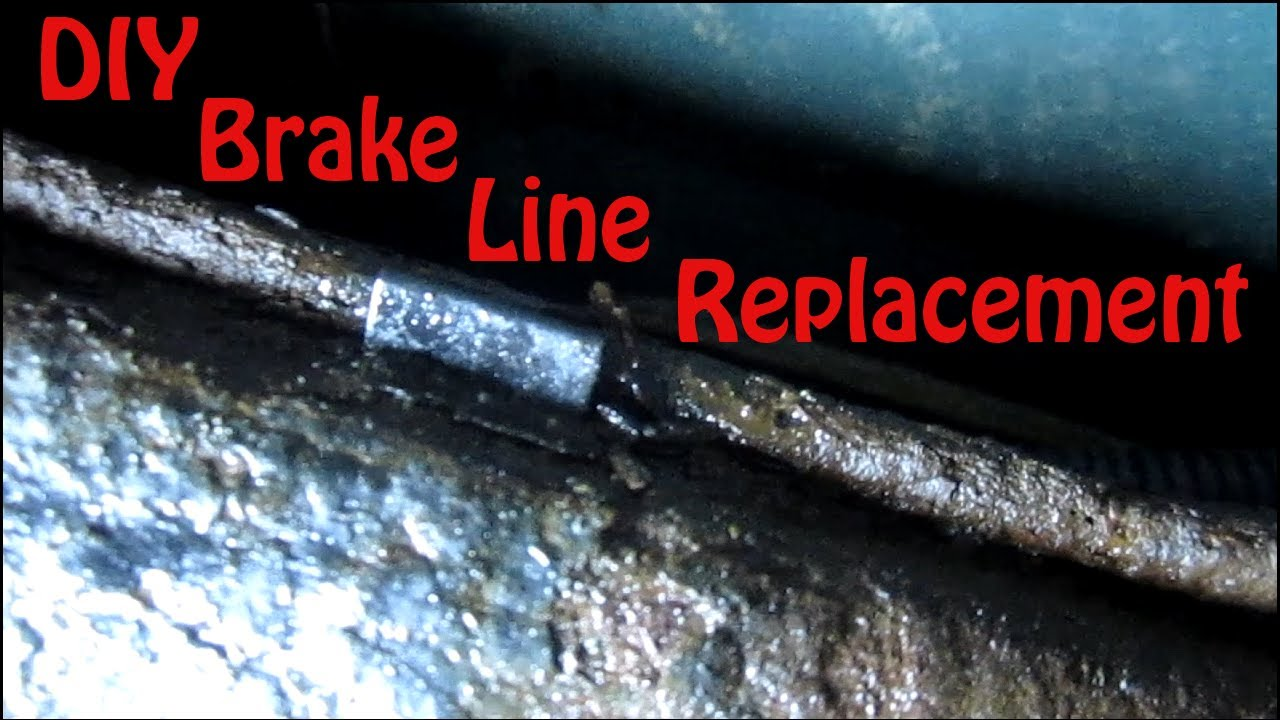 DIY Blazer Brake Line Replacement  How to Replace Rusted