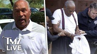 O.J. Simpson Fears For Cosby In Prison | TMZ Live