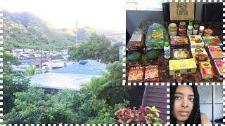 I'M IN HAWAII! | DOWN TO EARTH GROCERY HAUL | VEGAN