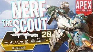 This is Why Everyone Wants the Scout Nerfed - PS4 Apex Legends Duos