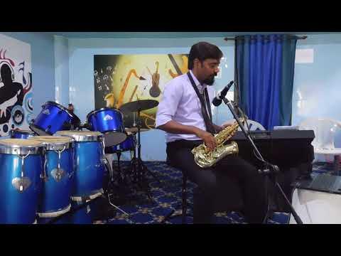 Ye sama sama hai ye pyar ka on saxophone by Yadram (Sunder)