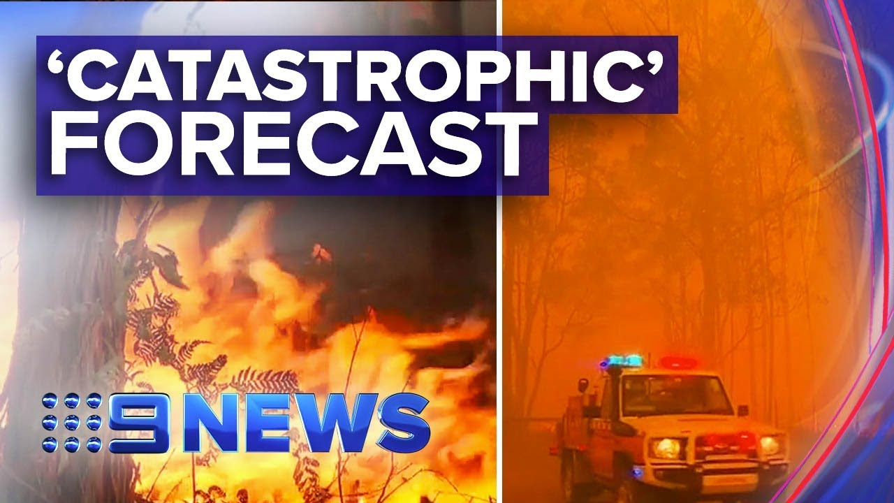 Catastrophic fire danger for greater Sydney, Hunter | Nine News Australia
