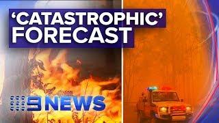 Catastrophic fire danger for greater Sydney, Hunter   Nine News Australia