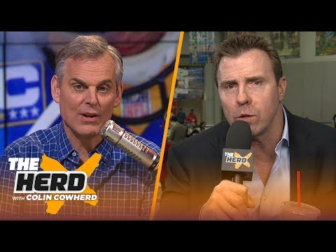 Bill Romanowski previews the Super Bowl, talks about Gruden and Carr's relationship   NFL   THE HERD