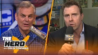 Bill Romanowski previews the Super Bowl, talks about Gruden and Carr's relationship | NFL | THE HERD