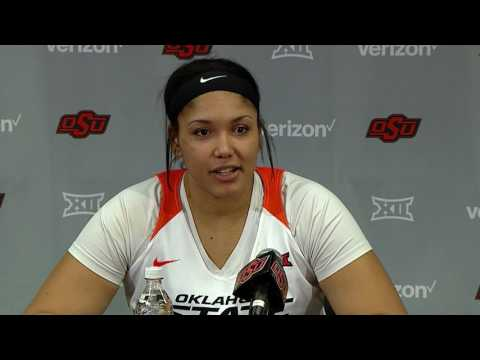 Cowgirl Basketball vs West Virginia Post Game (02.25.17)